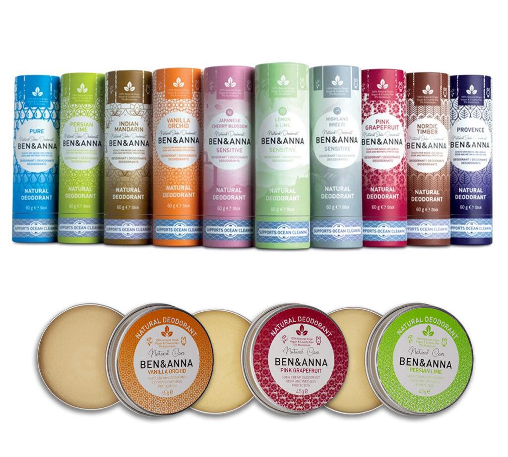 immagine didascalica dei deodoranti
