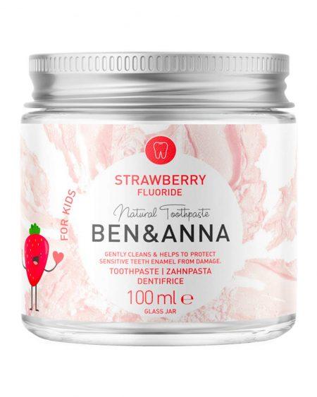 Pasta Dentifricia Strawberry con Fluoro 100ml